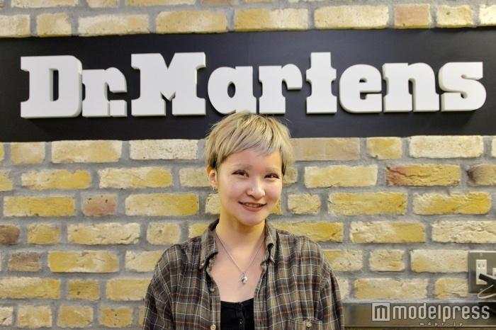 「Dr.Martens」MDアシスタントの三浦真由さん(C)モデルプレス