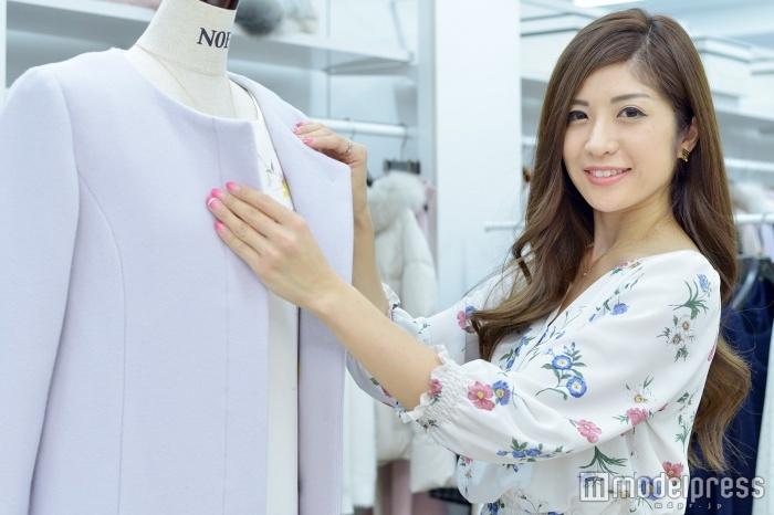 「noela」プレスの芝田早希さん(C)モデルプレス