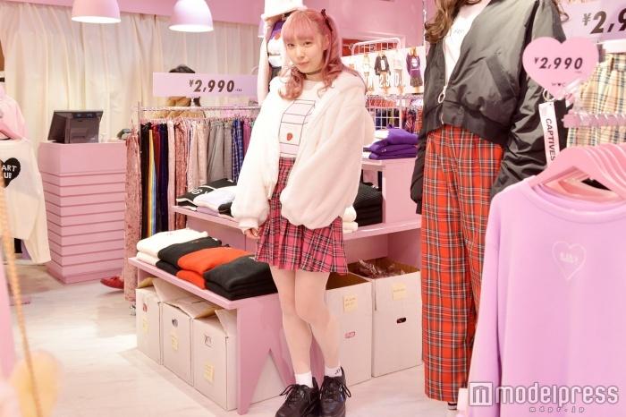 「WC」渋谷109店で取材を実施(C)モデルプレス