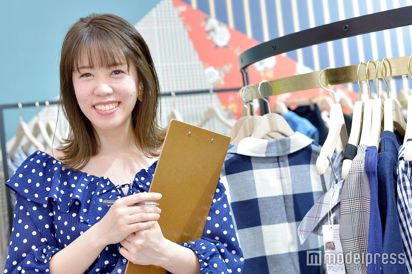 モデルプレスのインタビューに応じた小沢理紗さん(C)モデルプレス