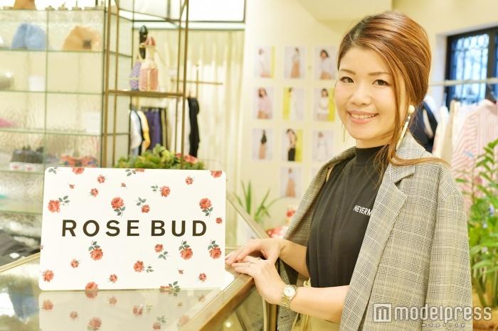 「ROSE BUD」プレスの岡田未来さん(C)モデルプレス
