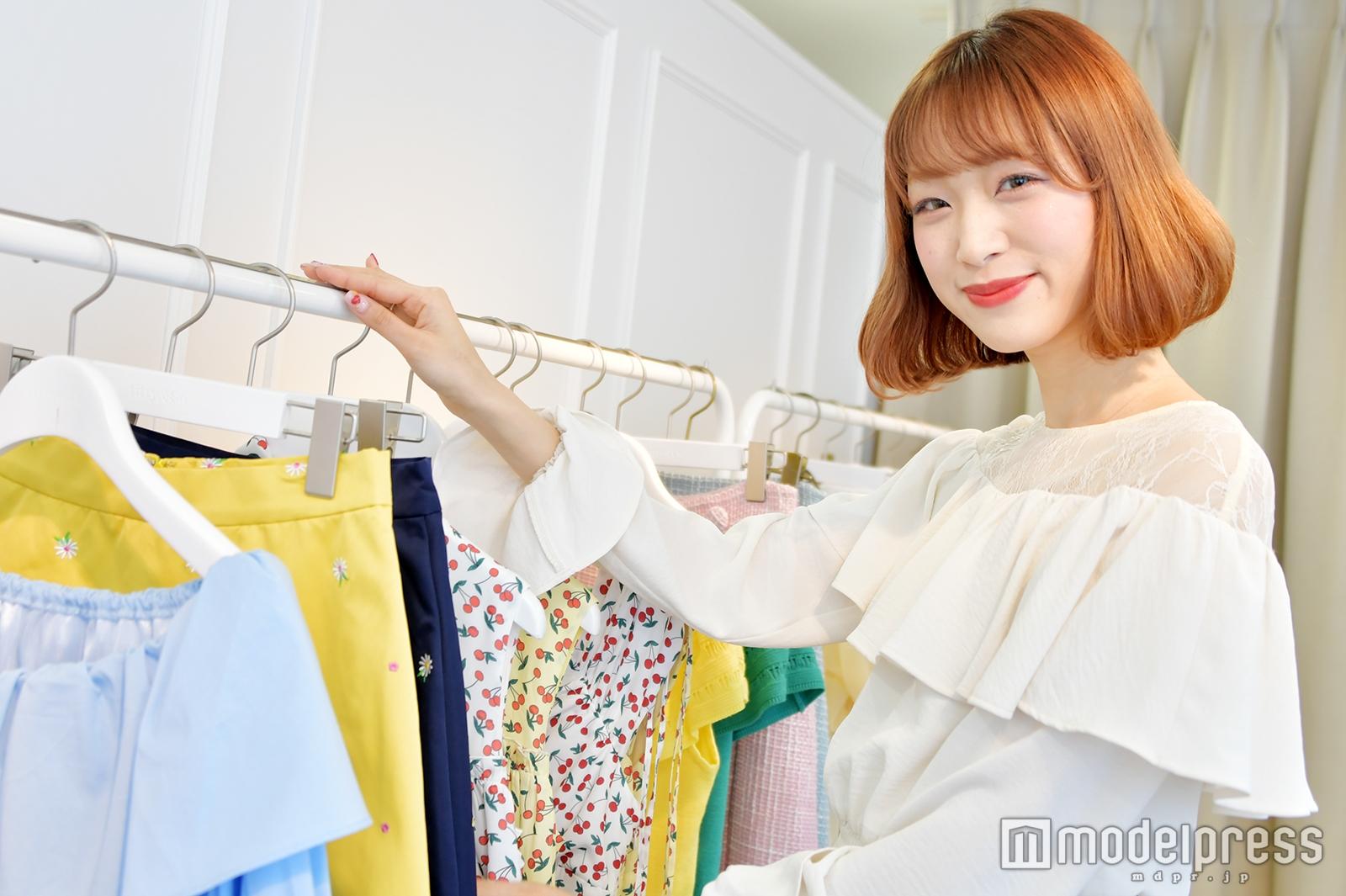 モデルプレスのインタビューに応じた岩崎真子さん(C)モデルプレス