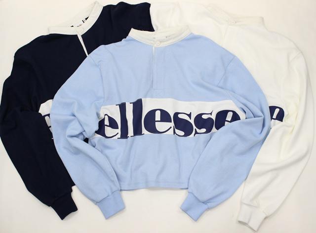 ellesse/ラガーSHLS(ラガーシャツ)¥6,500(税抜)(提供写真)