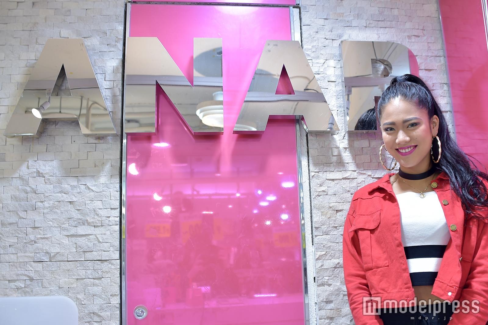「ANAP」原宿竹下通り店店長の嶋野加苗さん(C)モデルプレス