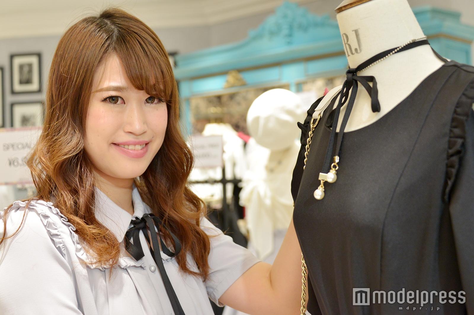 モデルプレスのインタビューに応じた宮島愛美さん(C)モデルプレス