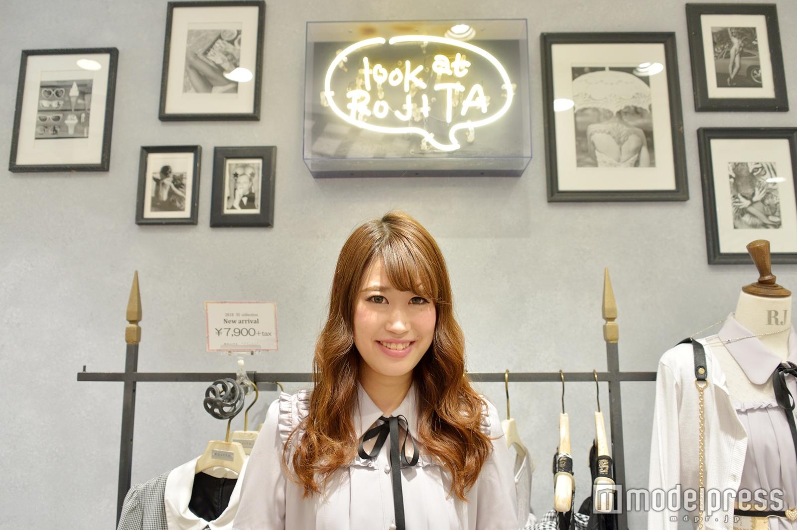 「ROJITA」渋谷109店で取材を実施(C)モデルプレス