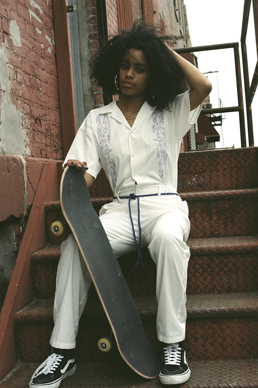 「#1 X-girl skateboards」(提供写真)
