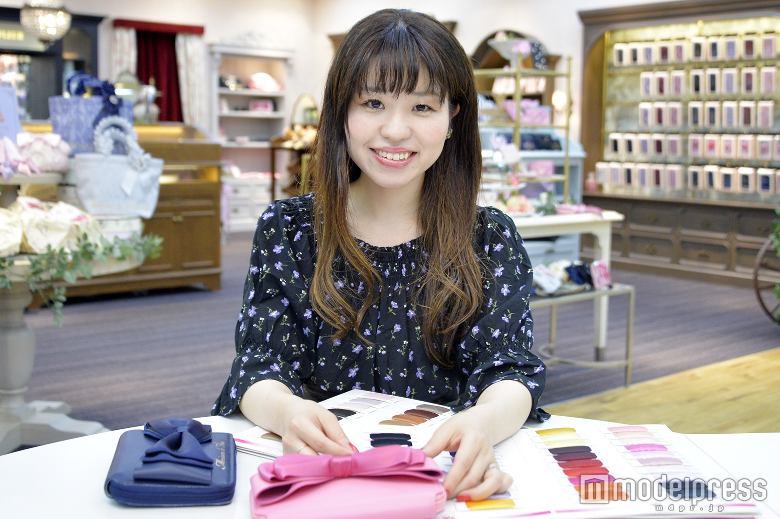 モデルプレスのインタビューに応じた久保田佳奈さん(C)モデルプレス