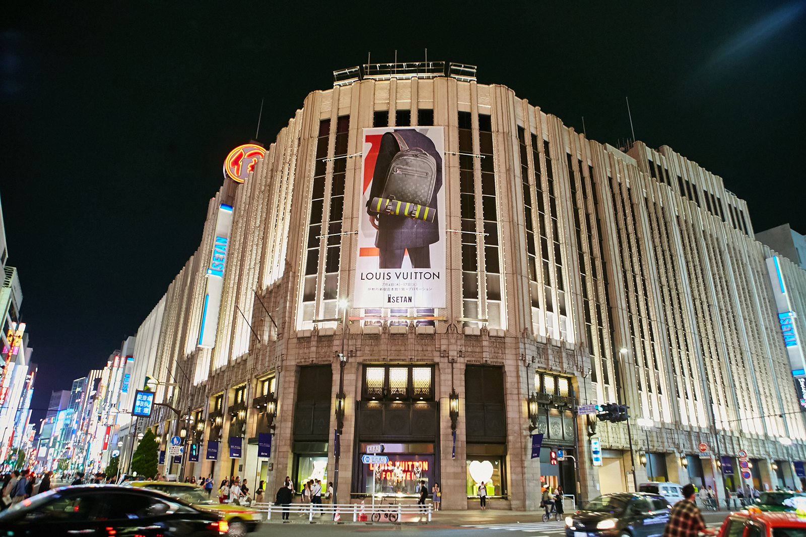 伊勢丹新宿(C)LOUIS VUITTON/WATARU FUKAYA