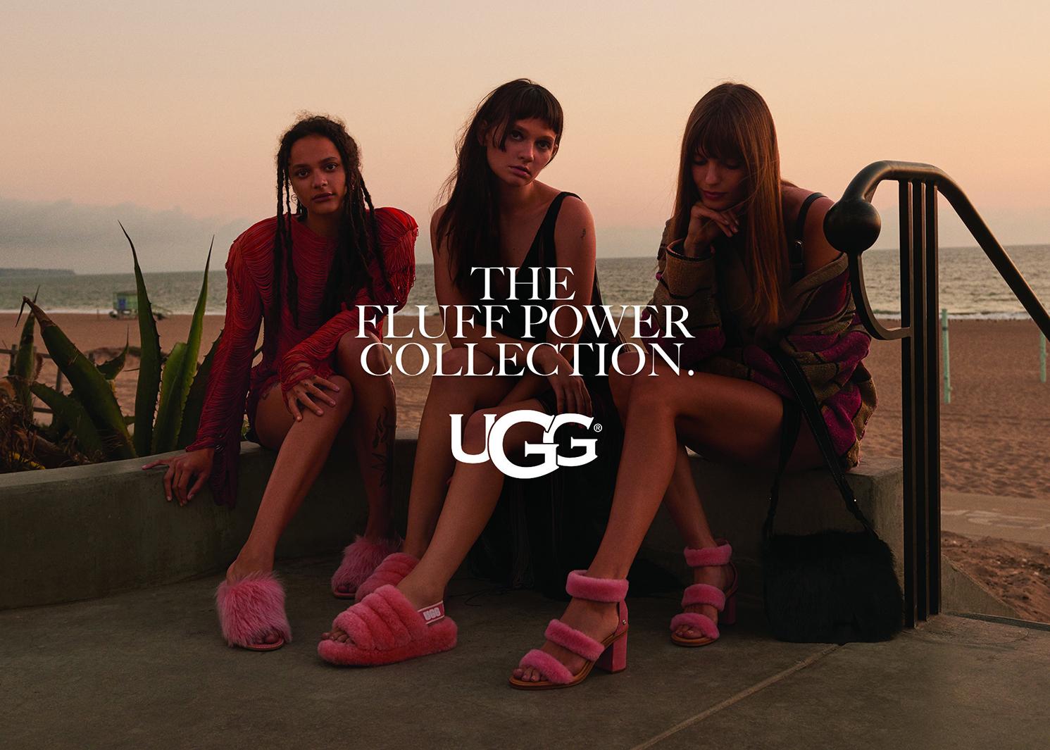 「UGG」フラッフ パワーコレクション(提供写真)