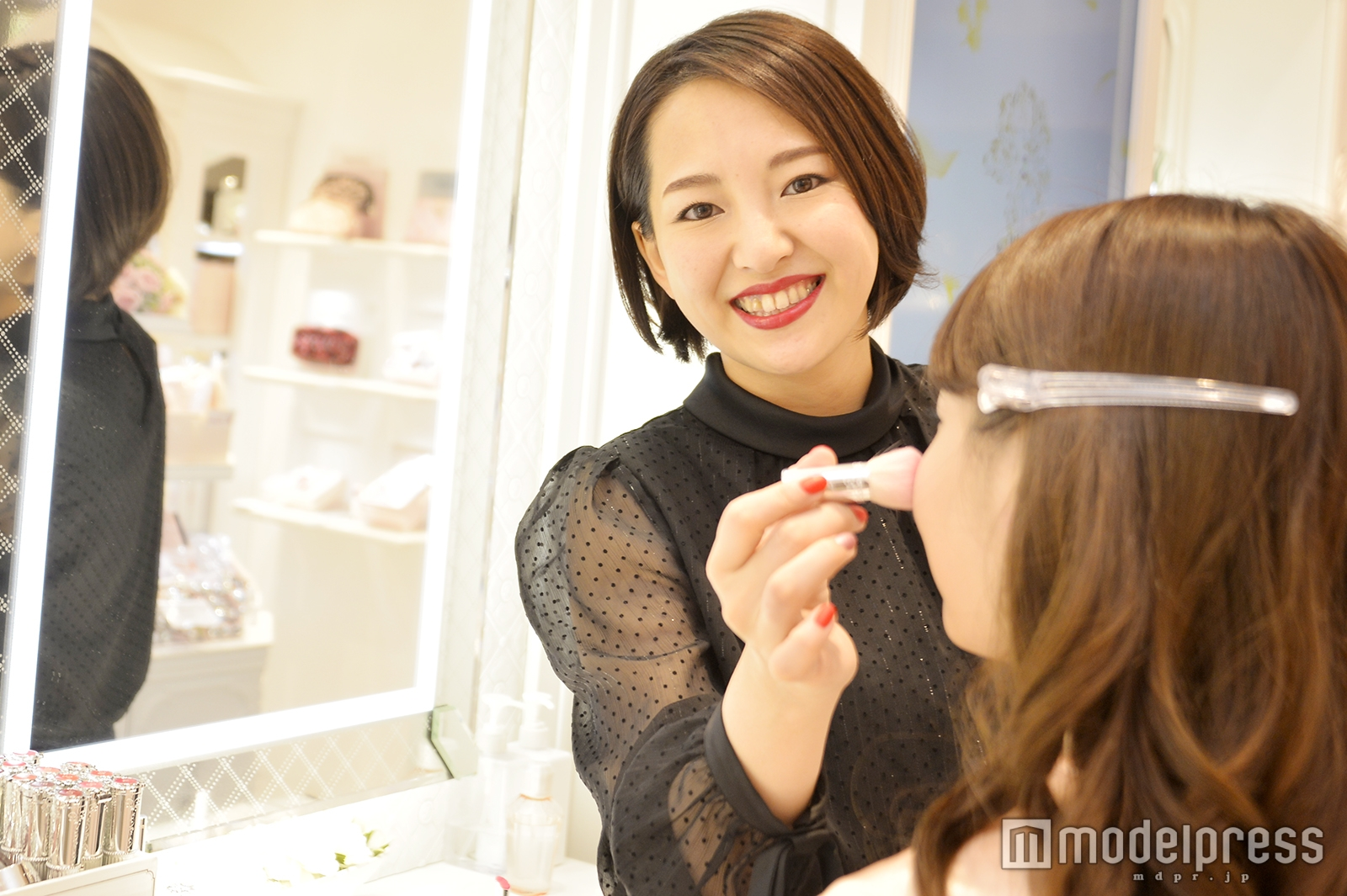 モデルプレスのインタビューに応じた足立悠希子さん(C)モデルプレス