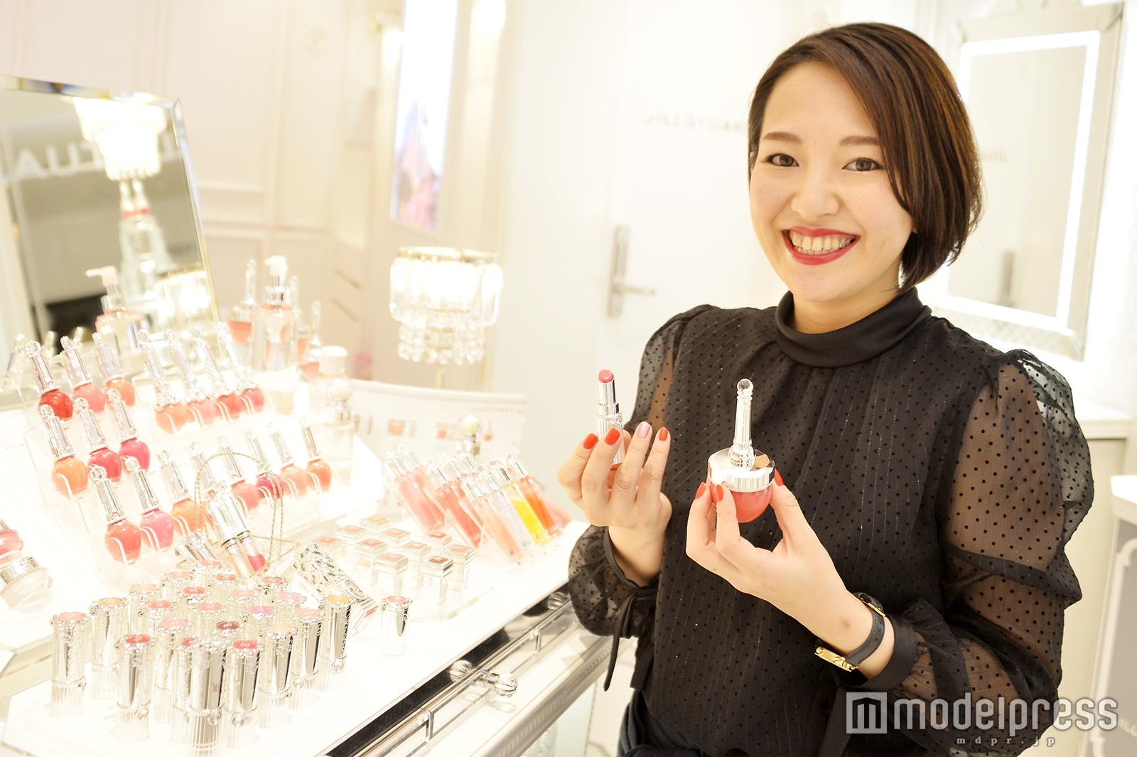 「JILL STUART Beauty」ルミネ新宿2店で取材を実施(C)モデルプレス
