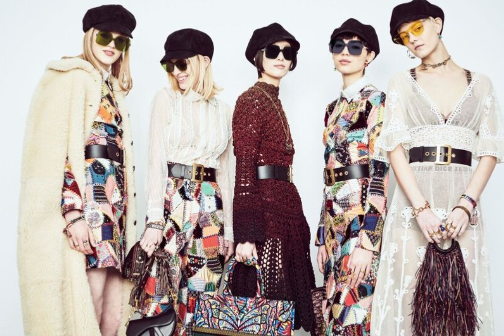 「Dior)」の新作サングラス「DIORCOLORQUAKE」(PHOTO:MORGAN O'DONOVAN)