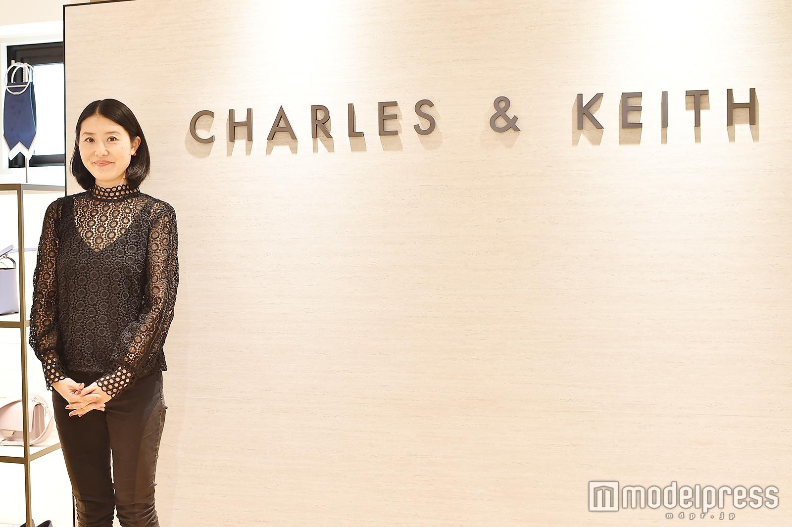 「CHARLES & KEITH」マーケティング責任者の延足絵理さん(C)モデルプレス