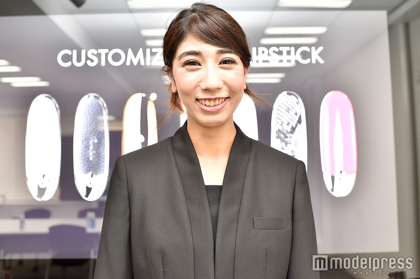 「ゲラン」ビューティーアンバサダーの遠藤舞子さん(C)モデルプレス