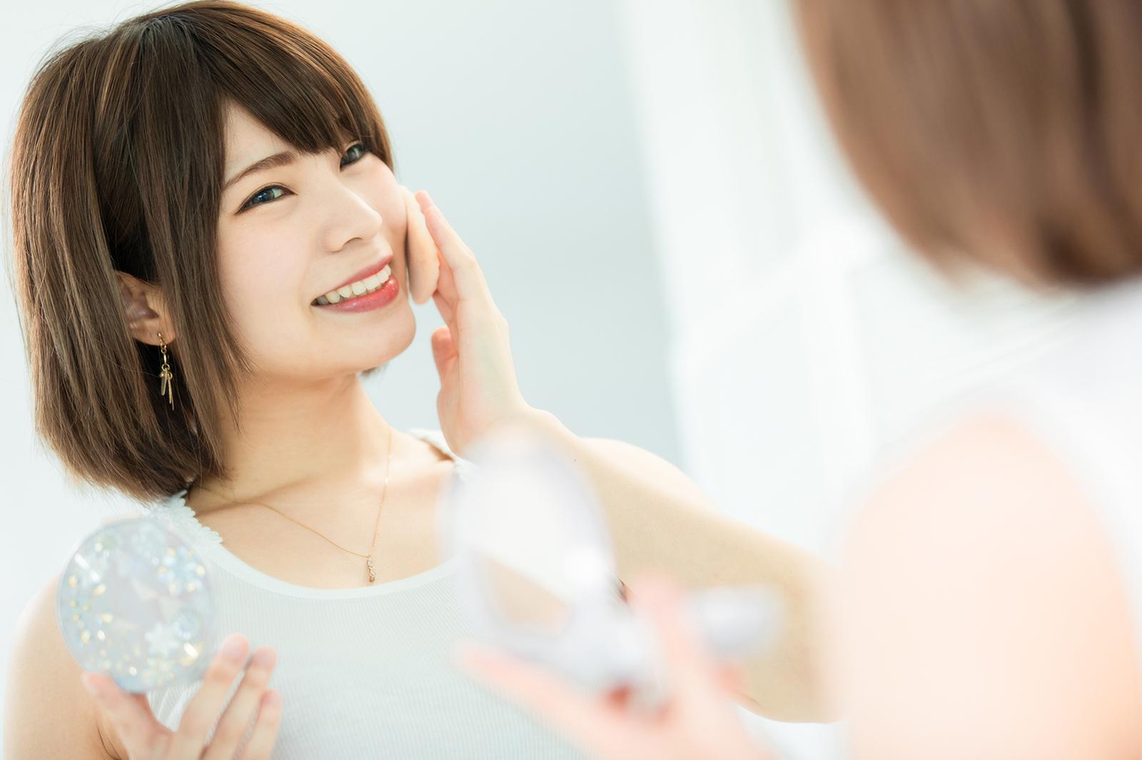 自然な笑顔の作り方/肌(提供写真)