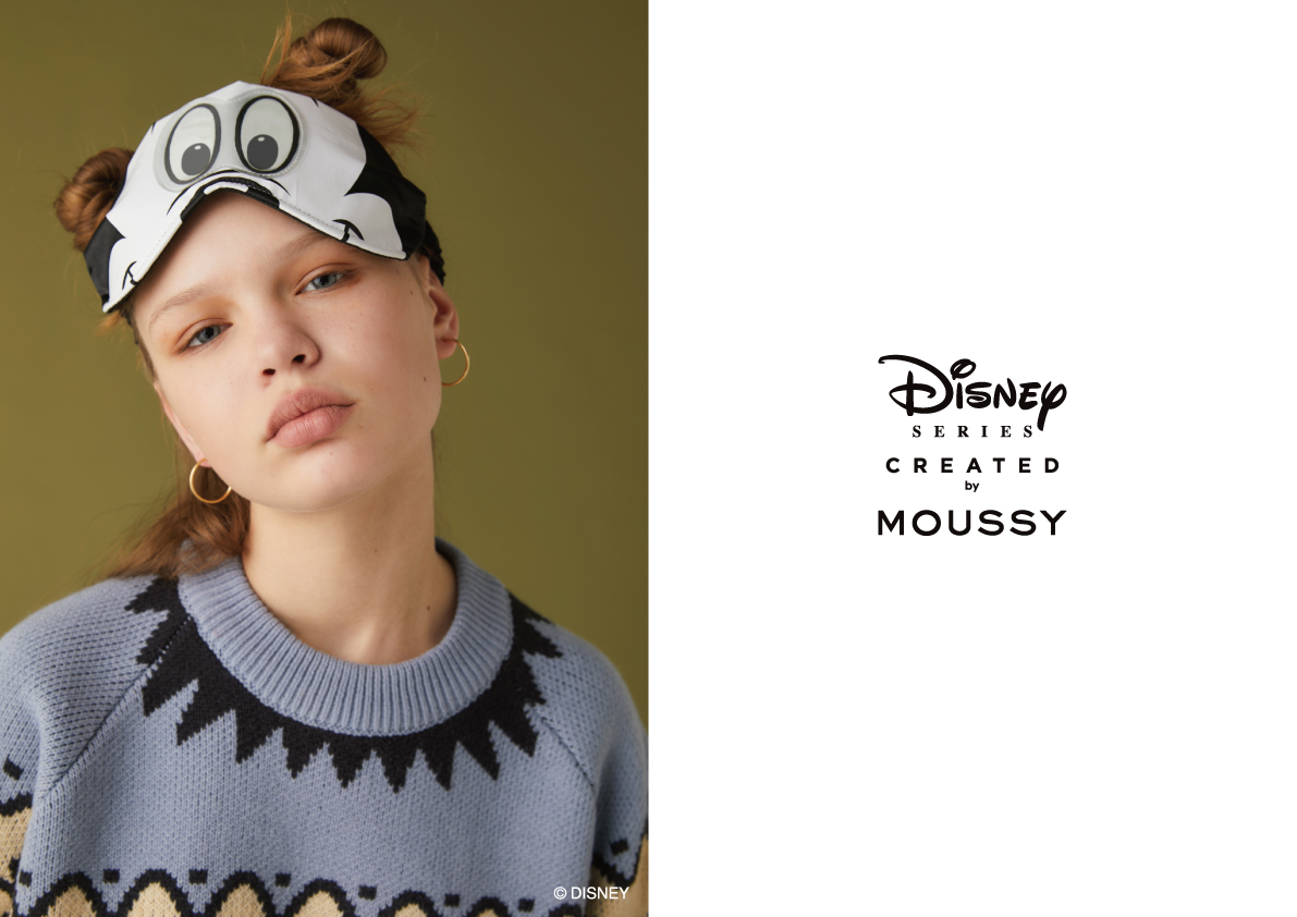 「Disney SERIES CREATED by MOUSSY」第五弾が登場(提供写真)