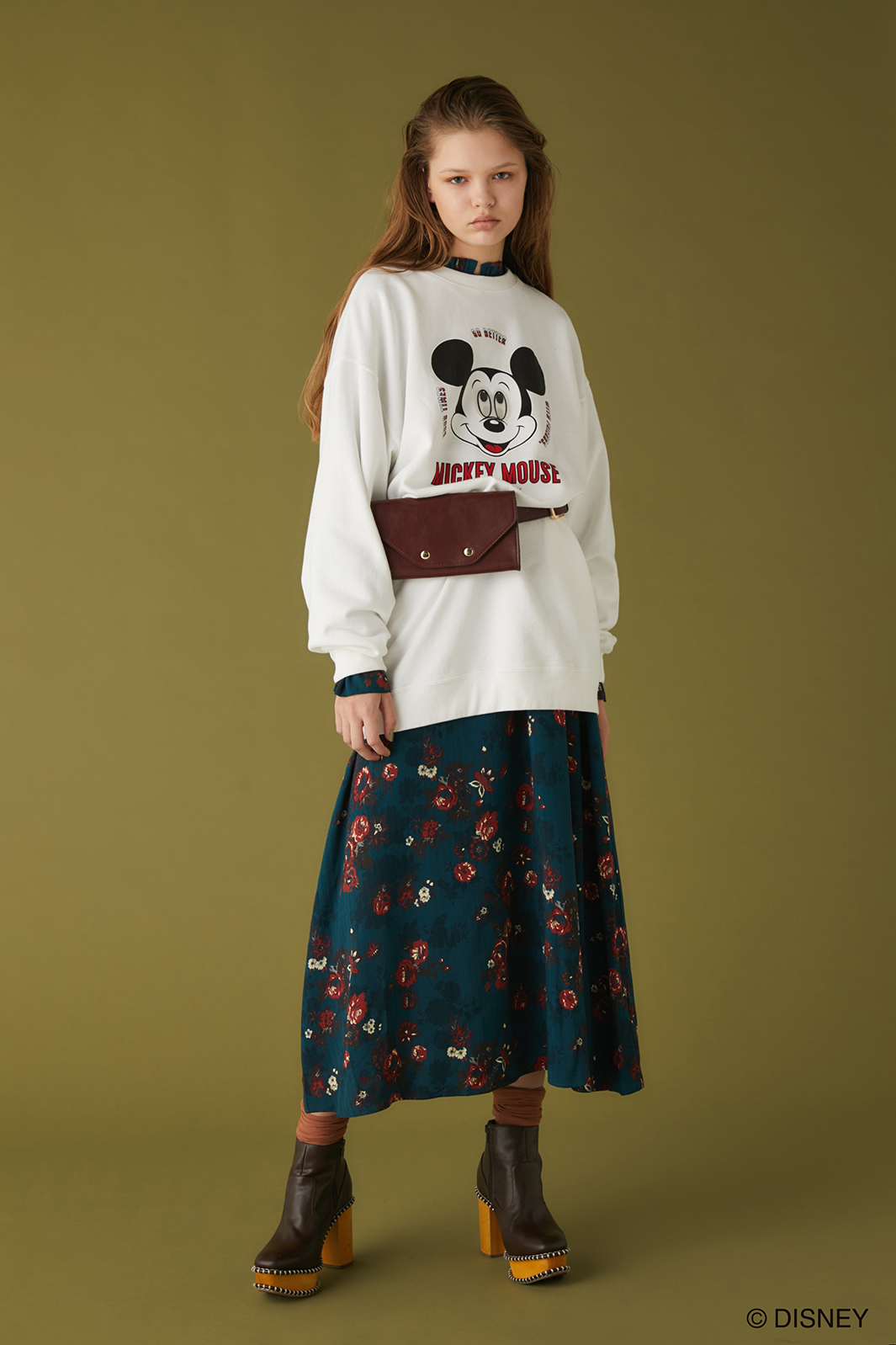 「Disney SERIES CREATED by MOUSSY」(提供写真)