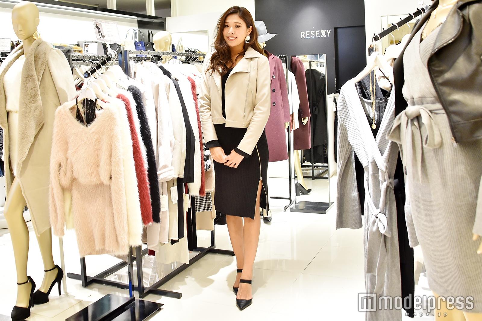 「RESEXXY」新宿ルミネエスト店で取材を実施(C)モデルプレス