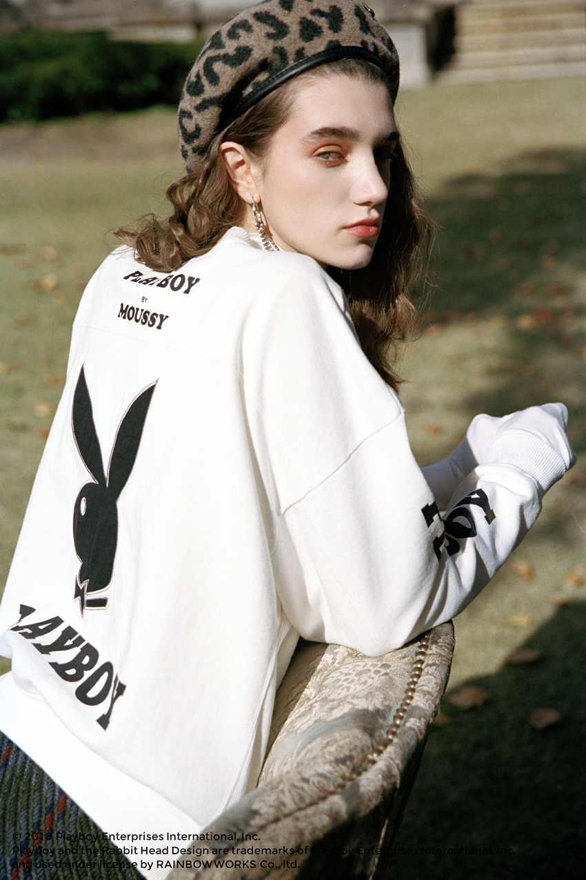 「MOUSSY」、雑誌「PLAYBOY」とコラボ(提供写真)