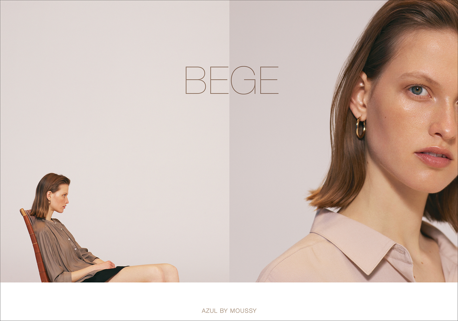 「AZUL by moussy」、新カジュアルライン「BEGE COLLECTION」ローンチ(提供写真)