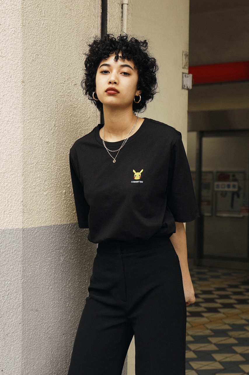 「H&M」×「ポケモン」Tシャツ1,499円、パンツ参考商品(提供写真)