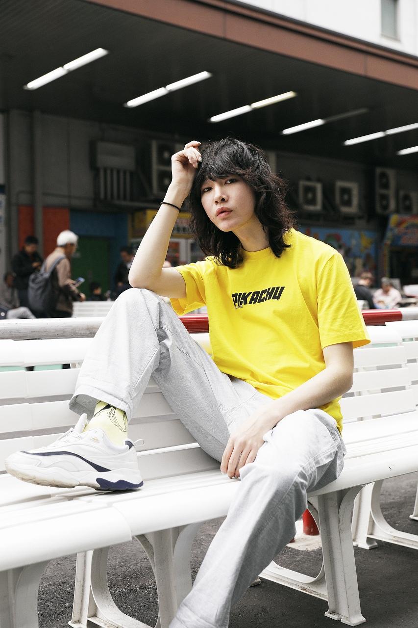 「H&M」×「ポケモン」Tシャツ1,799円、パンツ参考商品(提供写真)