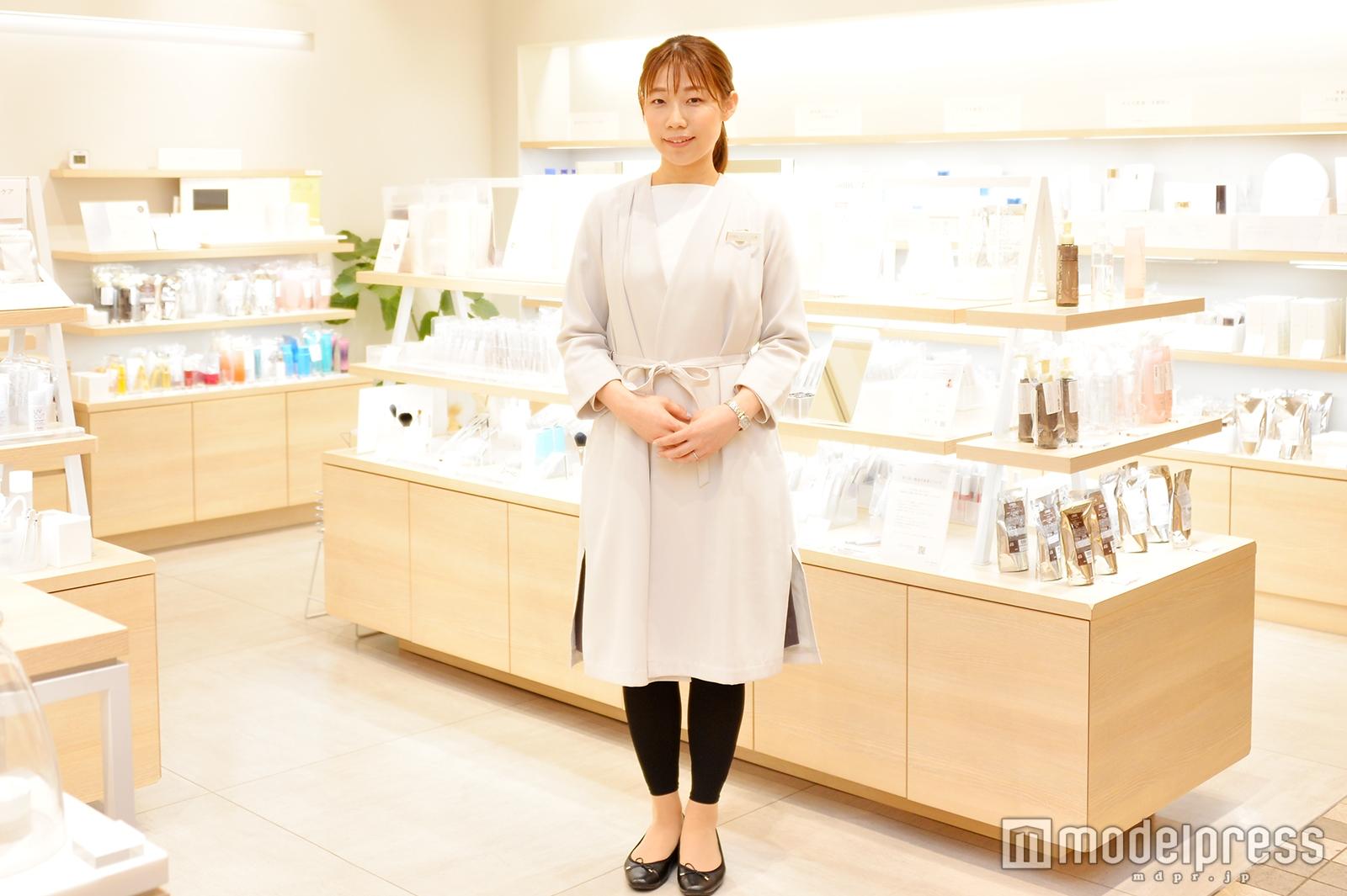 「オルビス」新宿マルイ本館店で取材を実施(C)モデルプレス