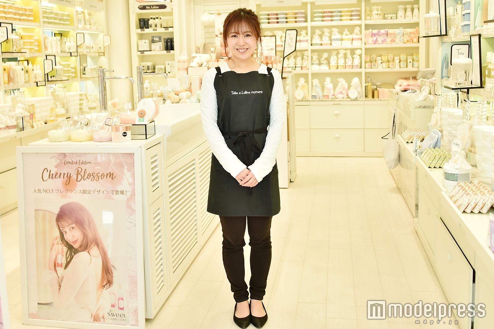 「Laline」原宿表参道店で取材を実施(C)モデルプレス