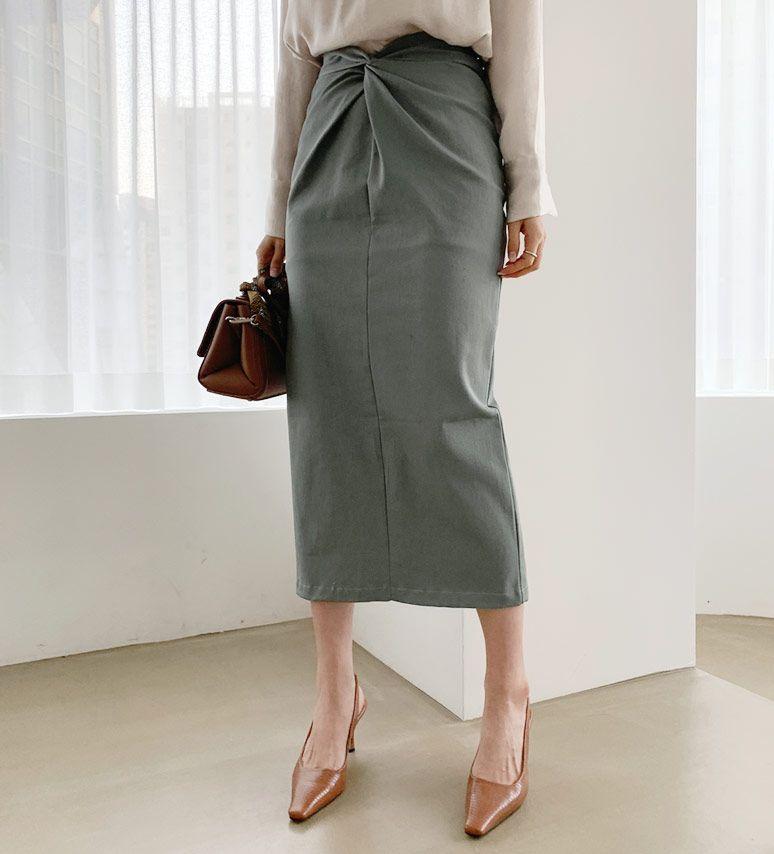 ツイストHラインスカート(提供写真)