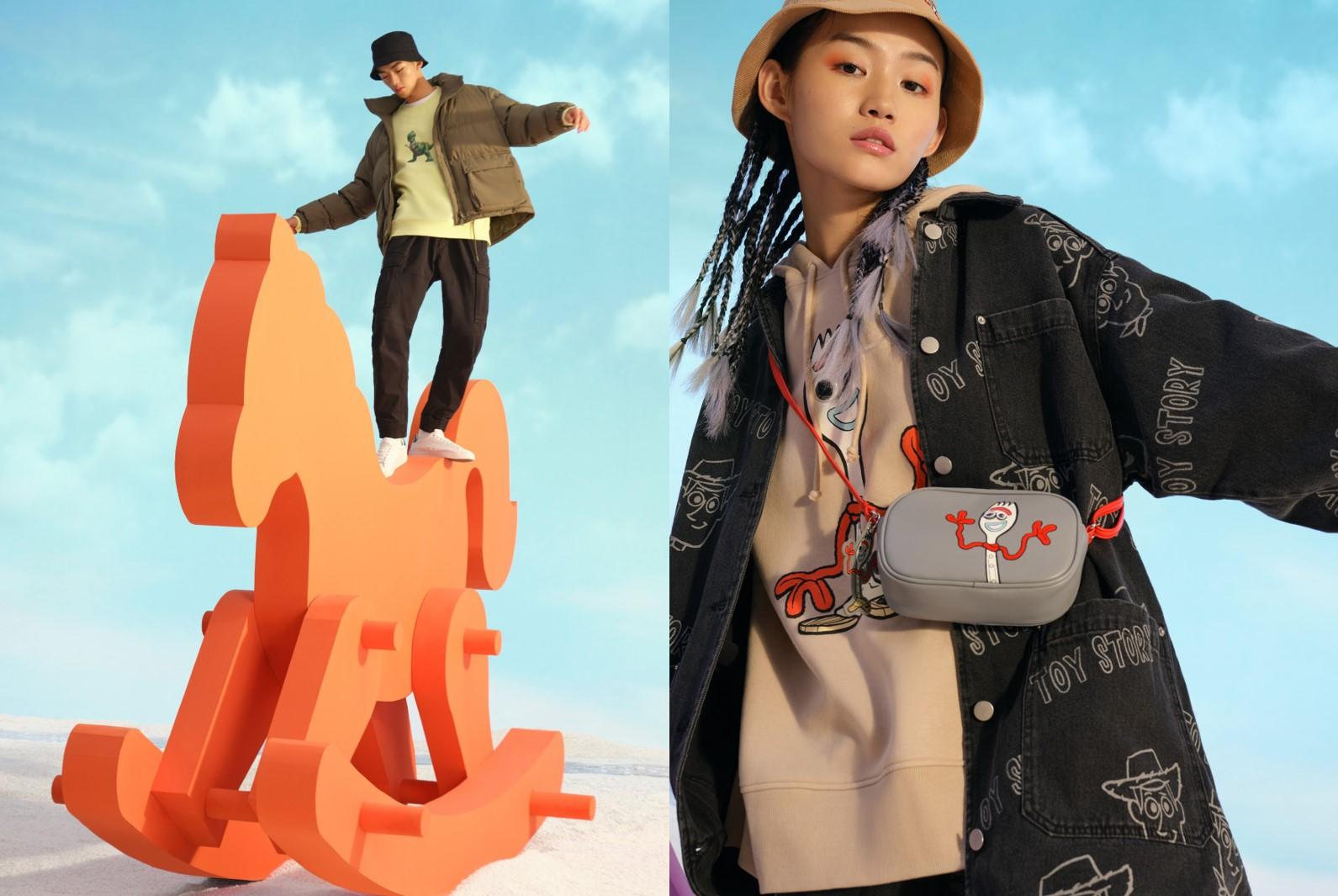 「H&M」&「トイ・ストーリー4」がコラボ(C)DisneyPIXAR