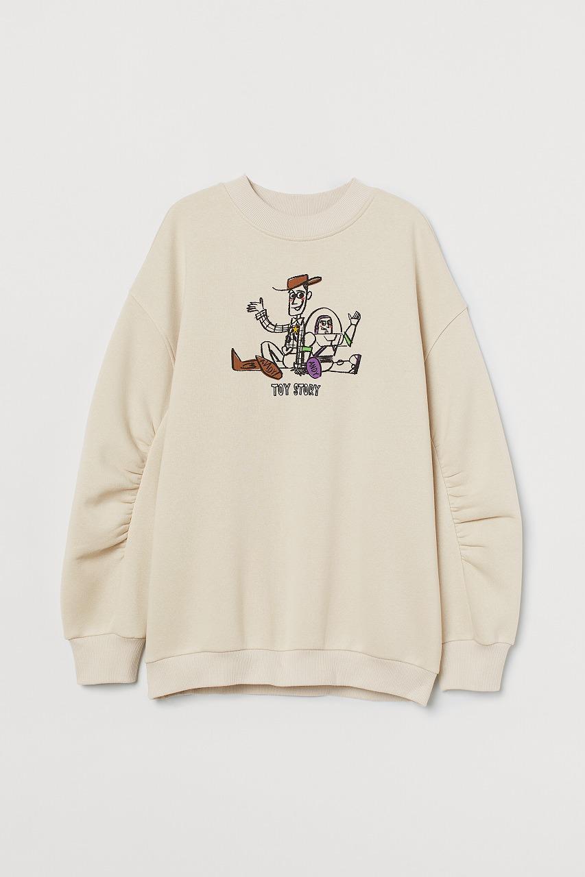 ウィメンズコレクション/スウェットシャツ(C)DisneyPIXAR