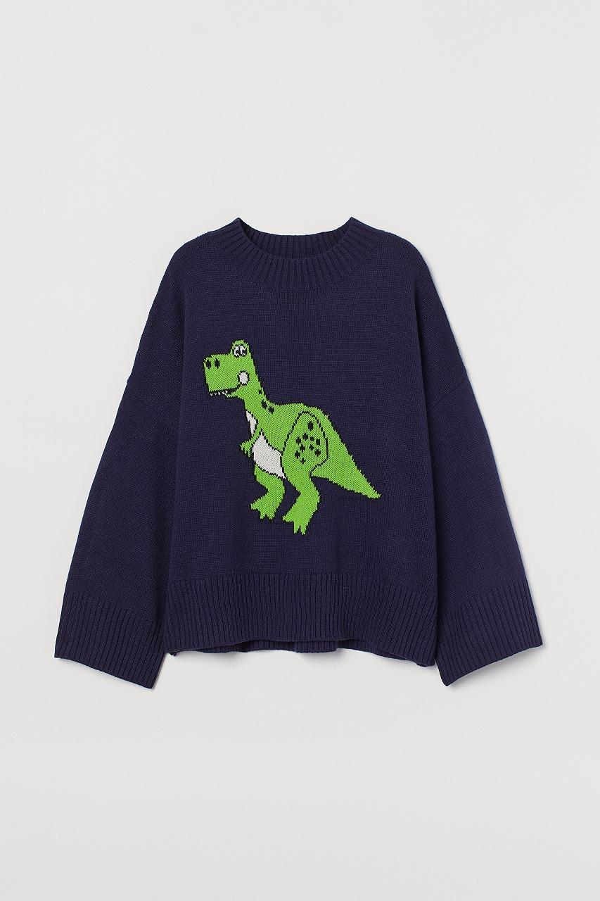 ウィメンズコレクション/オーバーサイズセーター(C)DisneyPIXAR