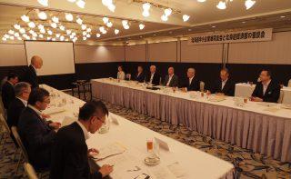 観光振興や働き方改革 道経済部と中小企業施策を協議