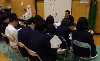 江別地区会11月例会 学校と企業との交流会