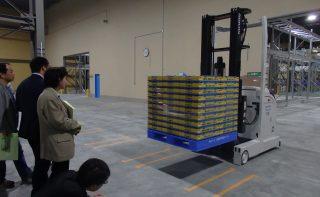 北地区会5月例会 新工場と最新物流倉庫を見学