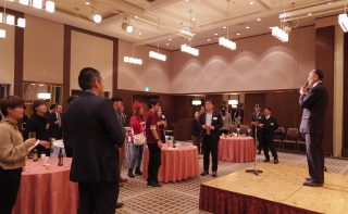 国際ビジネス研究会 外国人材受け入れの手続きと実態&留学生との交流会