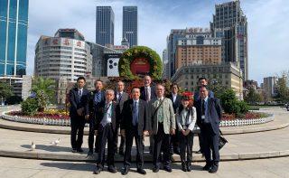 国際ビジネス研究会が中国(大連・瀋陽)を視察