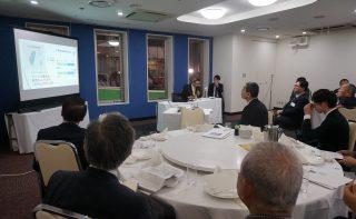 国際ビジネス研究会新年会―台湾の現状と、日本との経済交流の展望