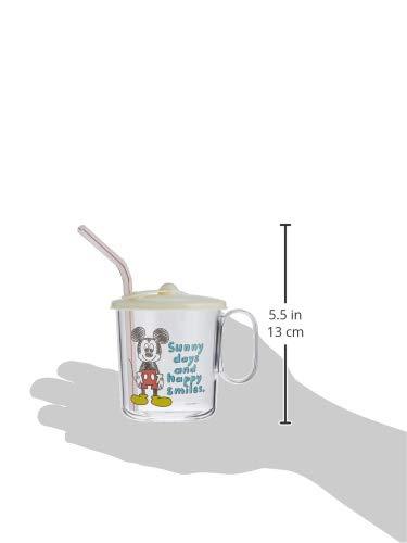 SKATER 「ミッキー蓋つきストローコップ」コップで飲む第一歩!