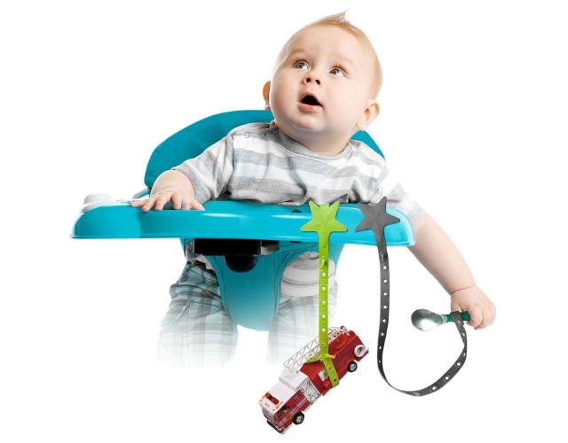 【プレゼント】「リルサイドキック おもちゃホルダー ストラップ」おもちゃなど様々なものの落下防止に!