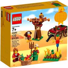 「LEGOブロック サンクスギビングハーベスト」今の時期にぴったりのかわいいブロック!