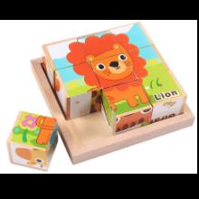 「iKing キューブパズル」かわいい動物たちを楽しく見つけよう!