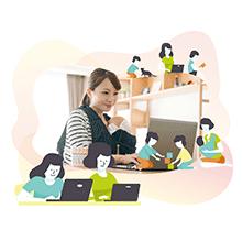 【2万円off】おうちで学べるWebデザイン講座♪ 在宅ワークを始めたいママ必見!無料体験会参加で