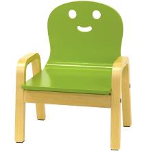 「happiness キコリの小いす」4歳まで使えるかわいい椅子!