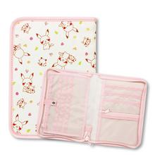 「モンポケ 母子手帳ケース」かわいいモンポケで、カードなどすっきり収納!