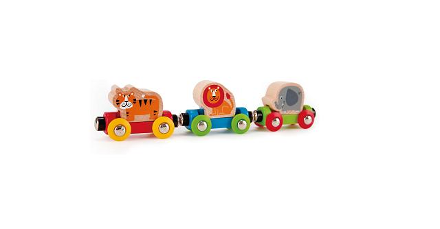 Hape 「のせかえ どうぶつでんしゃ」世界60ヶ国以上で愛されている知育玩具◎