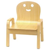 【プレゼント】「happiness キコリの小いす」4歳まで使えるかわいい椅子!