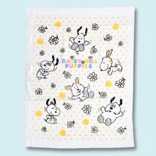 【プレゼント】赤ちゃんぐっすり!「スヌーピー ベビータオルケット」安心の日本製&綿100%!