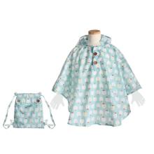 【プレゼント】「クッカヒッポ 子供用レインポンチョ」雨の日も楽しくおでかけできる!
